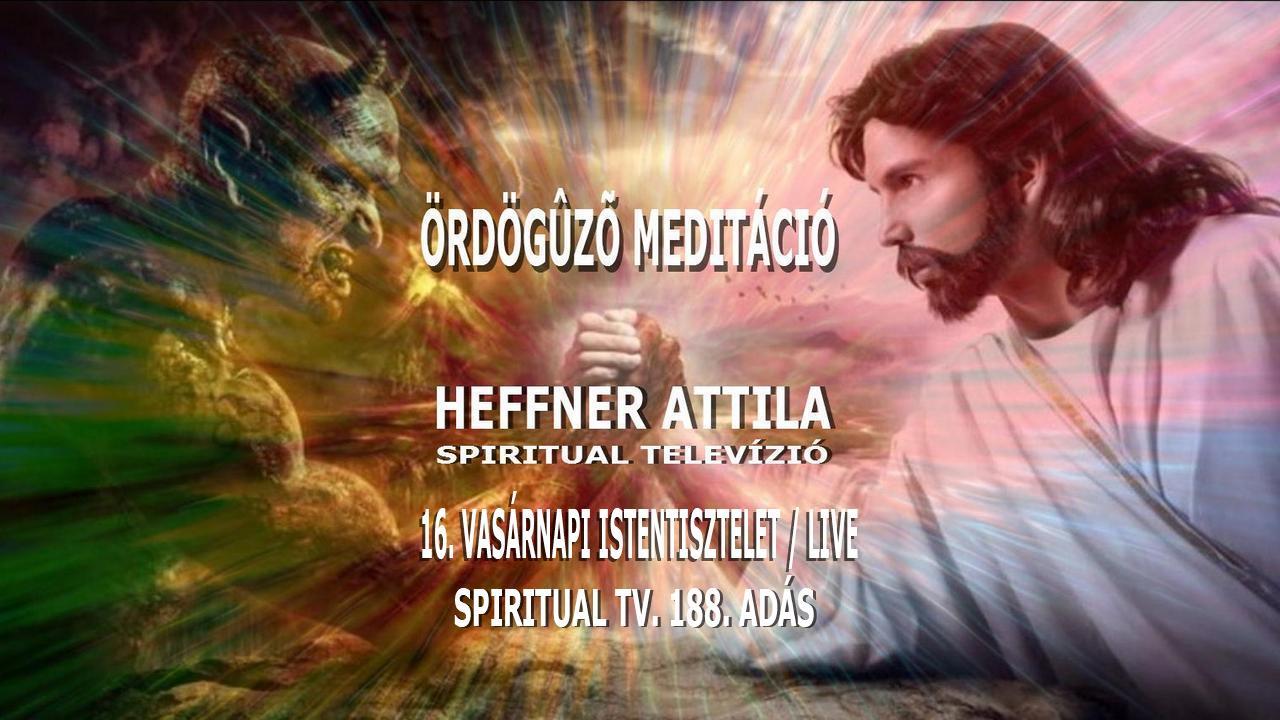 Spiritual Televízió 2020.10.25. www.spiritualtv.hu
