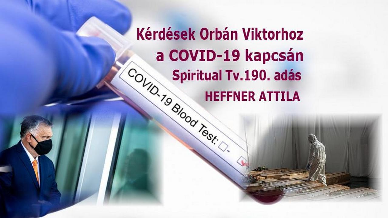 Spiritual Televízió 2020.10.30.           www.spiritualtv.hu