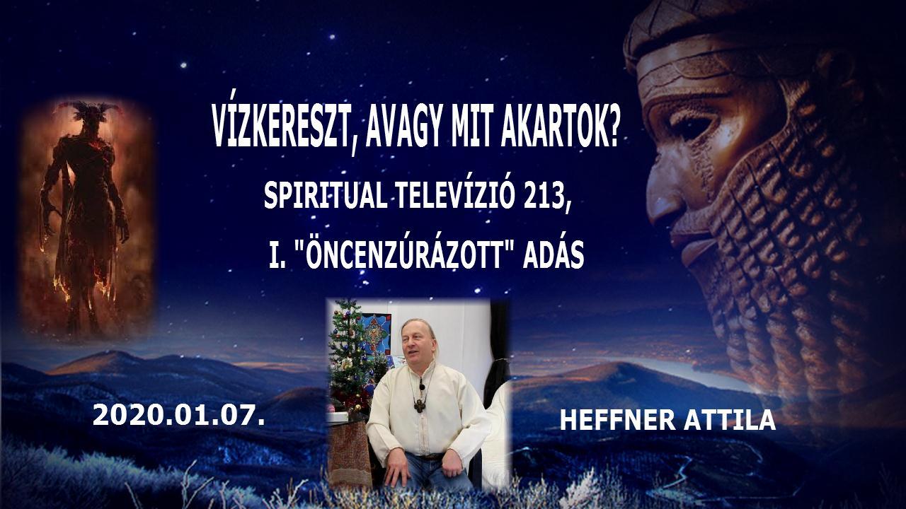 2021.01 07. www.spiritualtv.hu