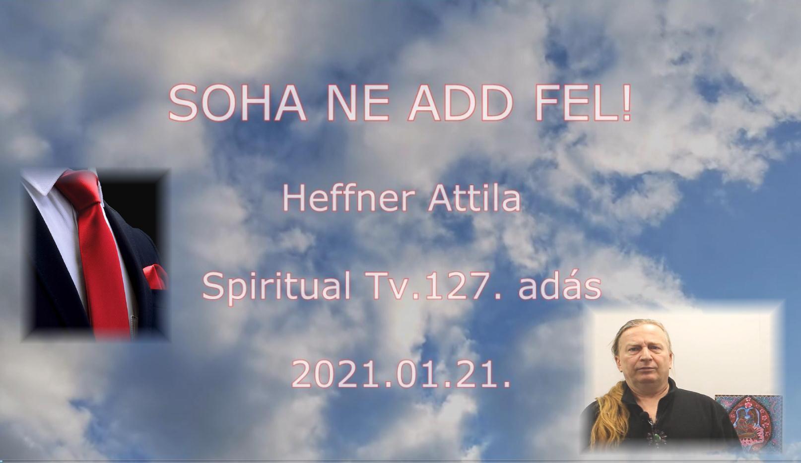 www.spiritualtv.hu 2021. jan. 22.