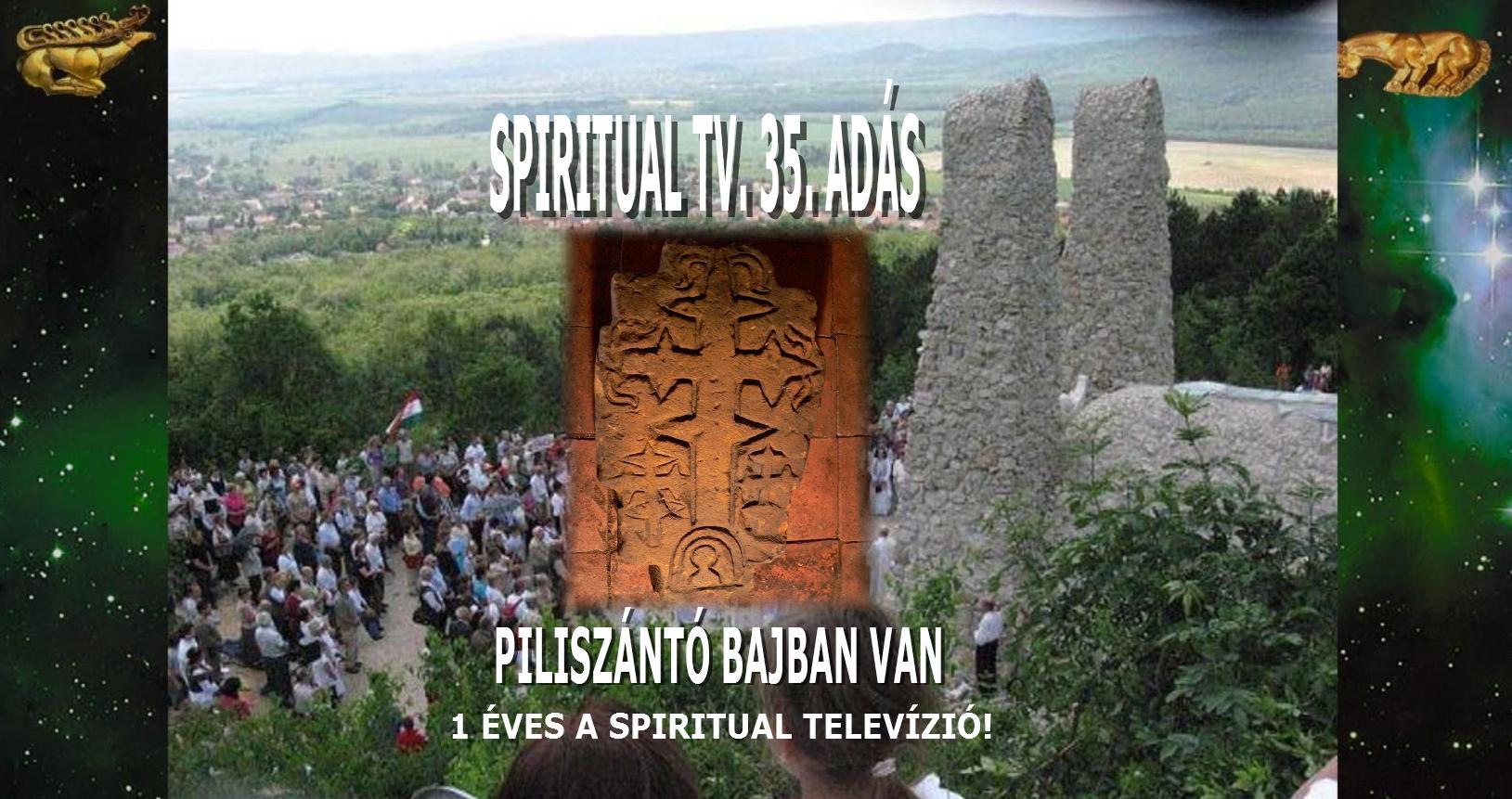 1 ÉVES A                                                           SPIRITUAL                                                           TELEVÍZIÓ!